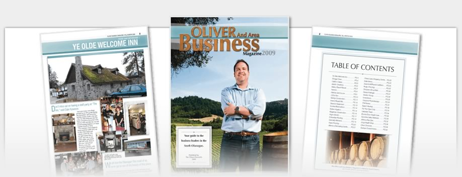 Business Magazines - Oliver Chronicle Business Magazine 2010