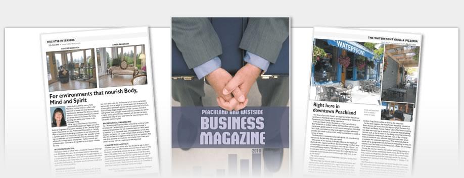 Business Magazines - Peachland View Business Magazine 2010