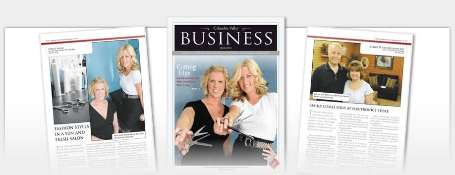Business Magazines - Columbia Valley Business Magazine 2010