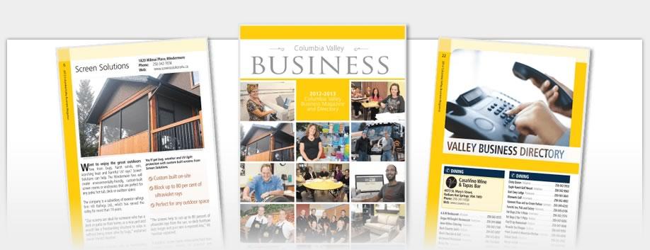 Business Magazines - Columbia Valley Business Magazine 2012