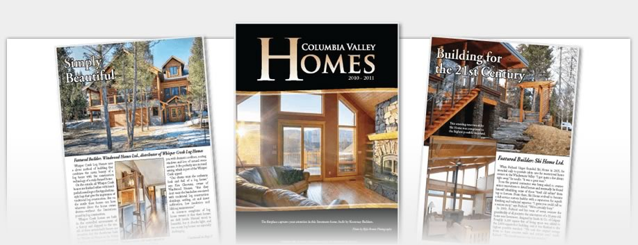 Columbia Valley Homes - Columbia Valley Homes Magazine 2010