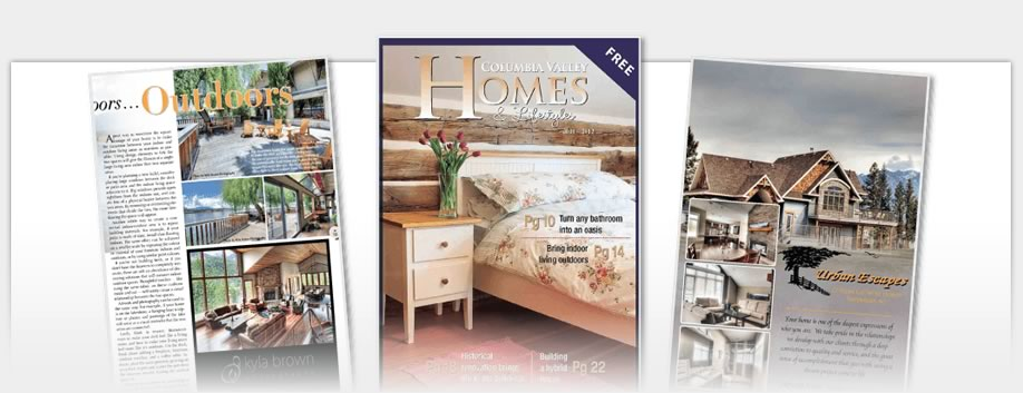 Columbia Valley Homes - Columbia Valley Homes Magazine 2011