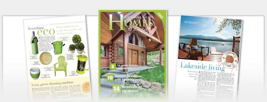 Columbia Valley Homes - Columbia Valley Homes Magazine 2012
