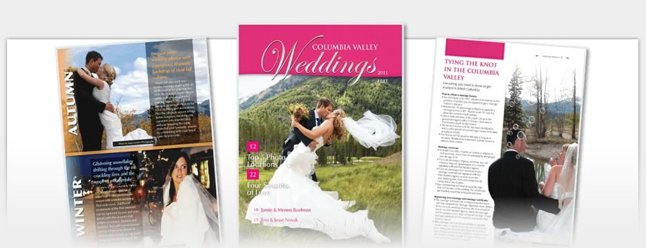 Columbia Valley Weddings Magazine - Columbia Valley Weddings Magazine 2010