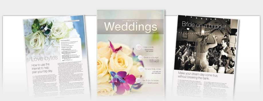 Columbia Valley Weddings Magazine - Columbia Valley Weddings Magazine 2011