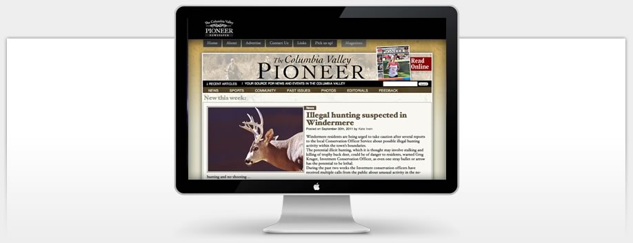 Columbia Valley Pioneer uses Ultra-Modern Technologies