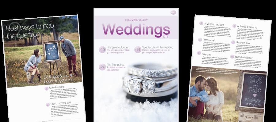 Columbia Valley Weddings Magazine