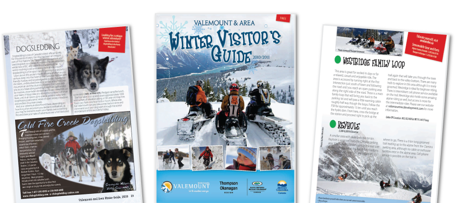 Valemount Visitor Guides