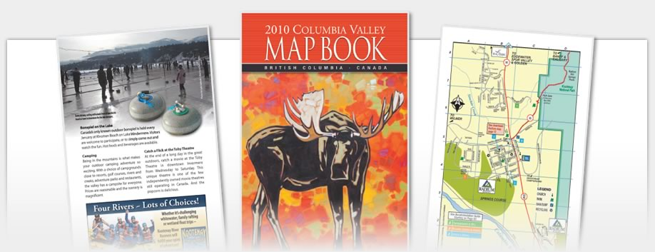 Columbia Valley Map Book - 2010 Map Book