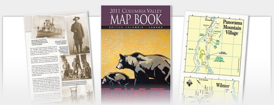 Columbia Valley Map Book - 2011 Map Book