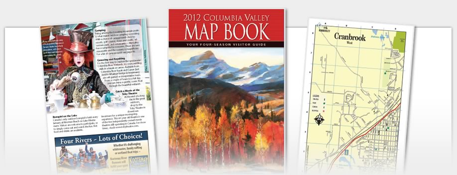 Columbia Valley Map Book - 2012 Map Book