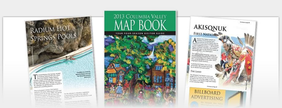 Columbia Valley Map Book - 2013 Map Book
