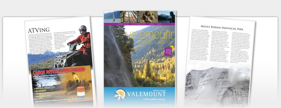 Valemount Visitor Guides - Valemount Summer Guide
