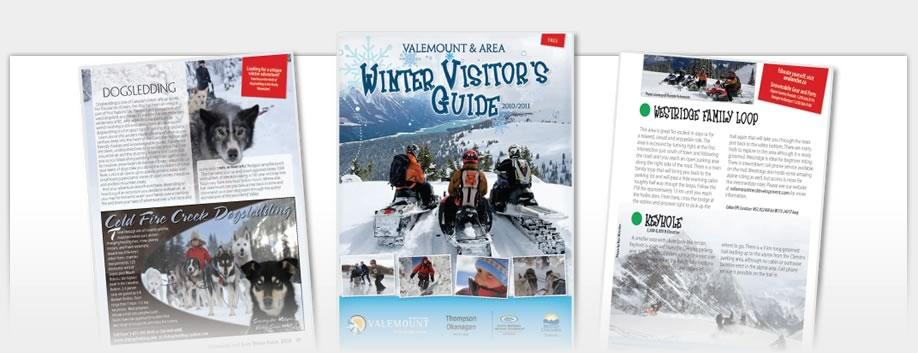 Valemount Visitor Guides - Valemount Winter Guide