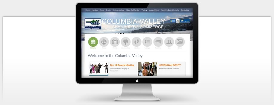 Columbia Valley Chamber of Commerce uses Ultra-Modern Technologies
