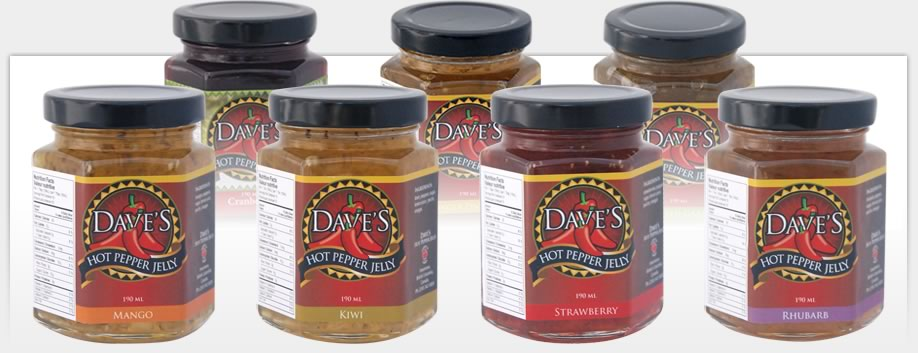 Dave's Hot Pepper Jelly - Packaging Materials