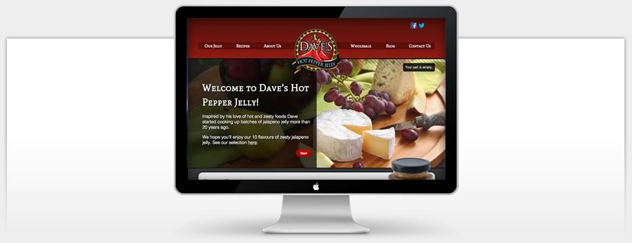 Dave's Hot Pepper Jelly uses Ultra-Modern Technologies