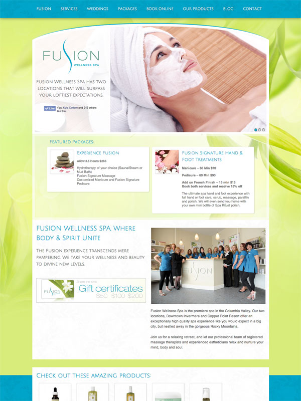 Fusion Wellness Spa Copper Point