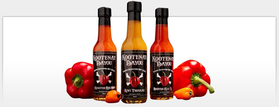 Kootenay Bayou Hot Sauce - Packaging Materials