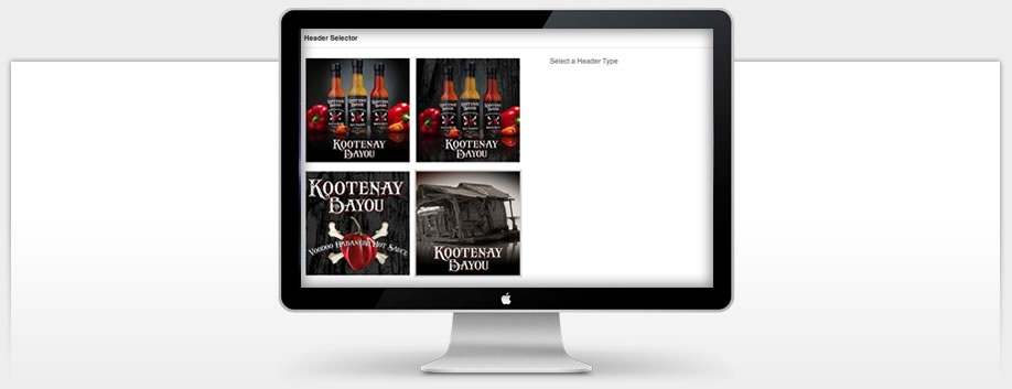Kootenay Bayou Hot Sauce - Custom Theme Options Panel
