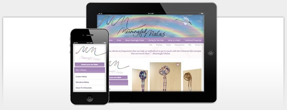 Meaningful Malas is Designed for Mobile Devices