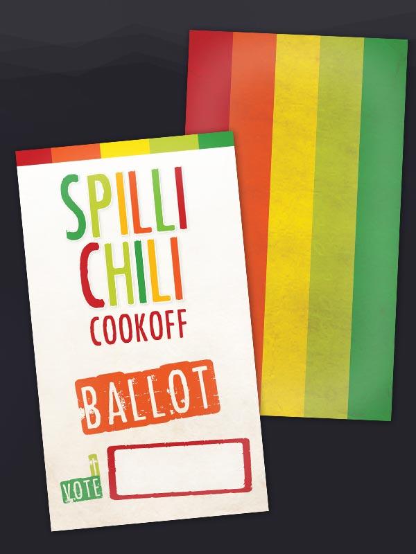 Chili Voting Ballots | just b.CAUSE