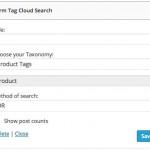 TermTag-Cloud-Search-widget